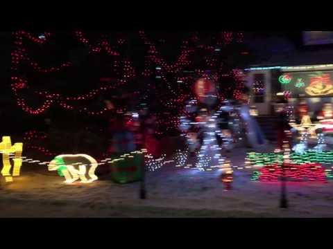 Christmas lights 2016 Edmonton