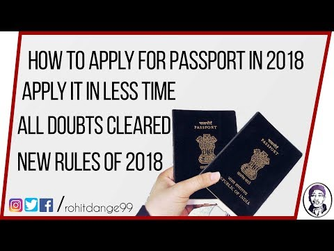 How to Apply for Indian Passport Online | Latest 2018 | All Doubts Cleared |