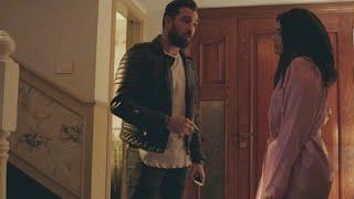 مسلسل نسر الصعيد – آسر يعتدي بالضرب على زوجته عاليا