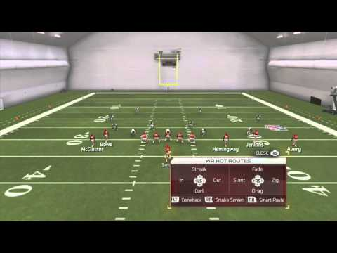 Madden 25 Tips - Best Pass Play in Madden 25  (SG 5 Wide Trio - Mesh)