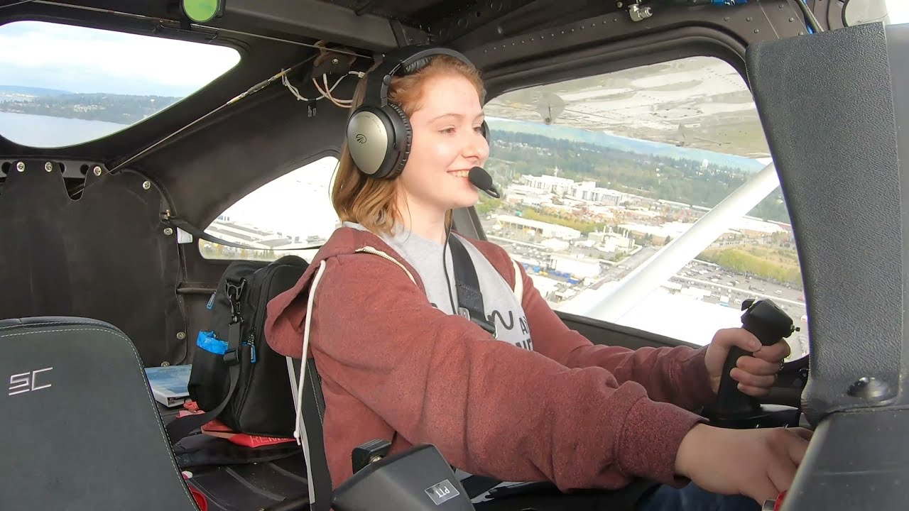 Natalie Makes First SOLO Flight on 16th Birthday
