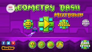 Trying to get all the coins in Geometry Dash
