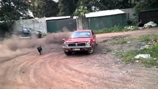 Drifting Nissan Datsun b210 Sri Lanka