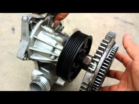 BMW Fan Clutch Removal 740 540i 525i 530i 330ci 325i e36 e38 e39