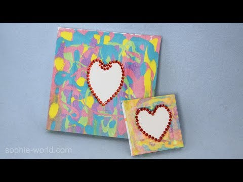 How to Make a Squeegie Painting | Sophie's World