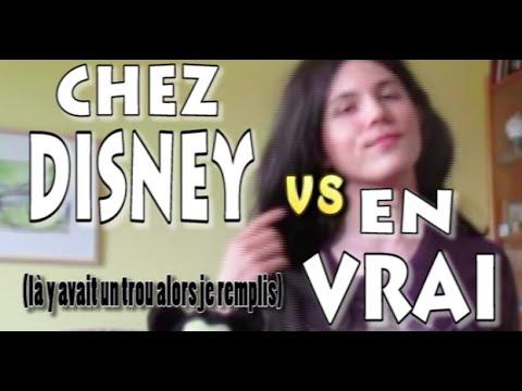 MART - CHEZ DISNEY vs EN VRAI