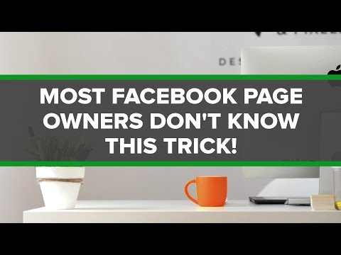 Most Facebook Page Owners Don't Know This Trick...