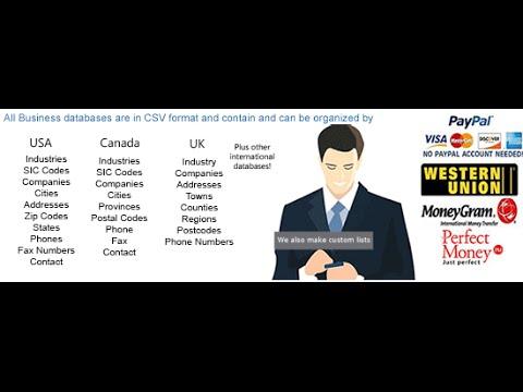 UAE United Arab Emirates business database and b2b email list