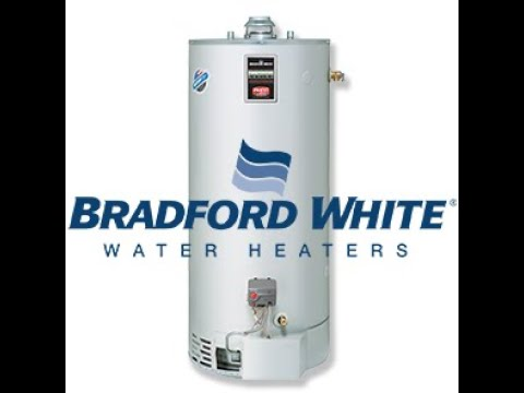 Bradford White Water Heater Thermostat settings