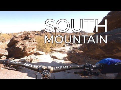 Big Wheels Eating Rocks in the Desert - South Mountain - Mountain Biking Phoenix Arizona