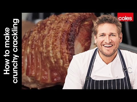 How to make crunchy crackling on a pork roast with Curtis Stone