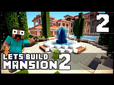 Minecraft: How To Make a Mansion - Part 2