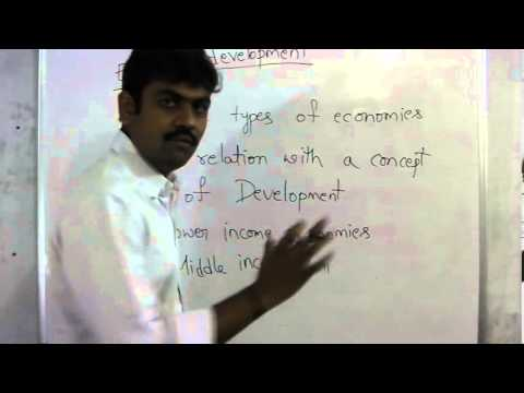 Economic growth & Development 1