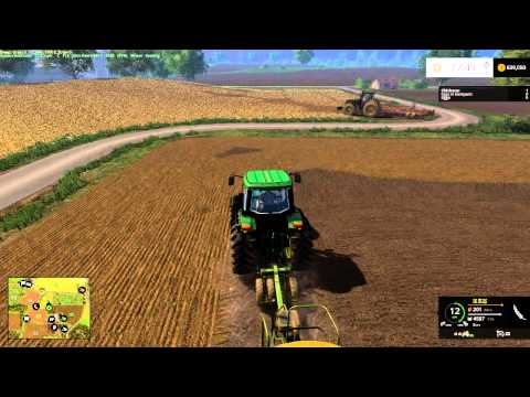 Farming Simulator 2015 lets get some seed in the ground