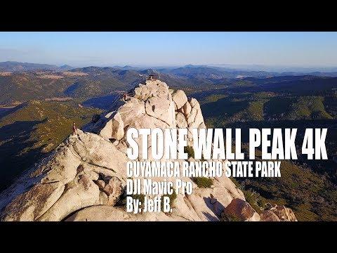 Stone Wall Peak 4K | Cuyamaca State Rancho Park | DJI Mavic Pro