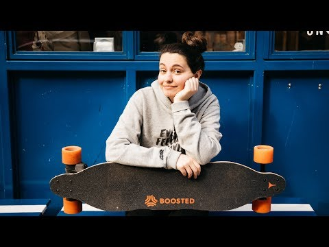 Sarah's First NYC Boosted Board Ride