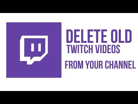 How To Delete Archived Videos From Your Twitch Channel - Twitch Tutorial