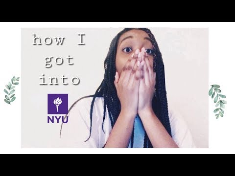 how I got into NYU | GPA, SAT/ACT, TIPS, and more