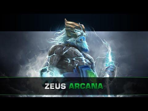 Dota 2 Zeus Arcana - Tempest Helm of the Thundergod
