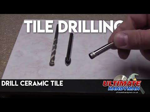 drill ceramic tile - tile drilling