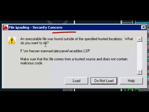 Error An executable file was found outside of the specified trusted locations HOW TO FIX