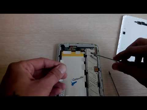 Как разобрать планшет Samsung