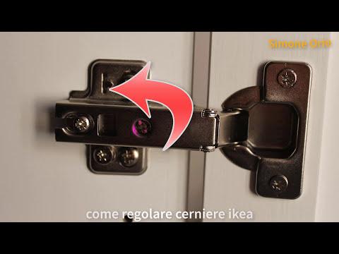 Adjusting IKEA hinges and doors