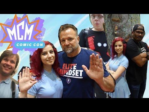 CON VLOG: MEETING THE CAST OF GTA V | Friday - MCM London Comic Con May 2018 (Epsilon Member)
