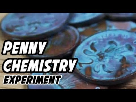 Penny Chemistry Experiments
