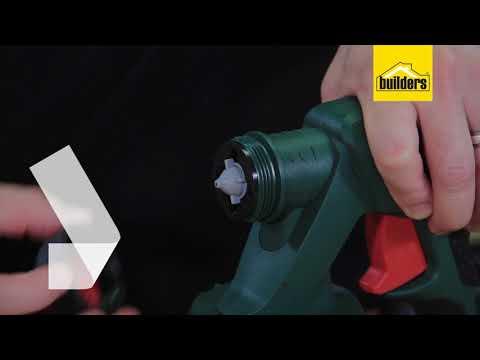 How The Bosch Spray Gun PFS2000 Works