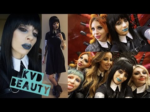 GRWM + Behind Scenes | Kat Von D Beauty at The Makeup Show