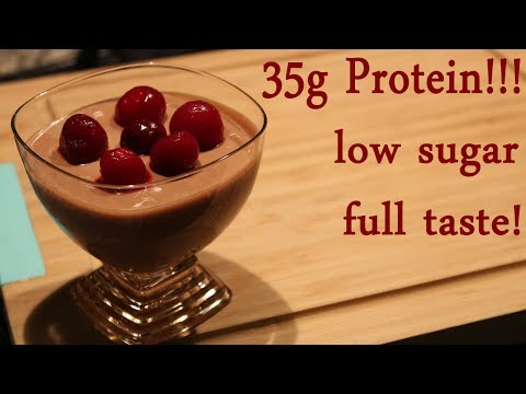Fit Chocolate Mousse Recipe with High Protein!