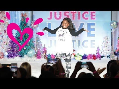 JUSTICE FASHION SHOW 💗 HOLIDAY 2017