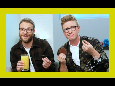 Munchie Madness with Seth Rogen | The Tyler Oakley Show