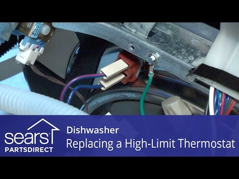 Replacing the High-Limit Thermostat on a Dishwasher