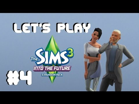 Let's Play - The Sims 3 Into The Future (Part 4) Designing a Plumbot