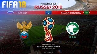 FIFA 18 World Cup - Russia vs. Saudi Arabia @ Luzhniki Stadium (Group A)