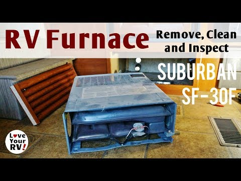 Removing, Cleaning, and Inspecting Our RV Furnace