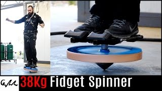 Extremely heavy fidget spinner