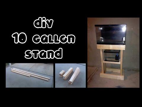 DIY 10 Gallon Stand