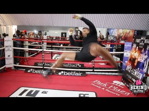 CRAZY MARTIAL ARTS! JOE JOYCE WORKOUT HIGHLIGHTS AHEAD OF PROFESSIONAL DEBUT!