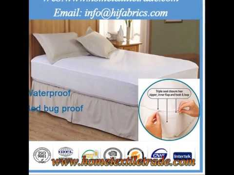 Micro Fiber Diamond Quilted Crib Waterproof Fitted Mattress Pad