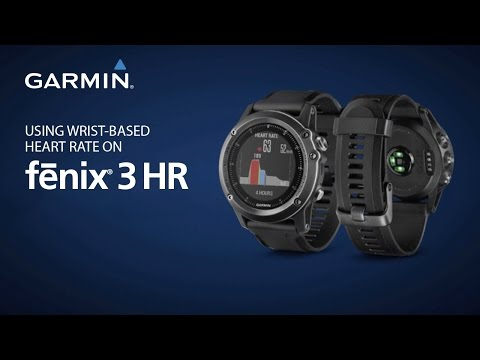 fēnix 3 HR: Using Wrist-Based Heart Rate on Your Multisport Training GPS Watch