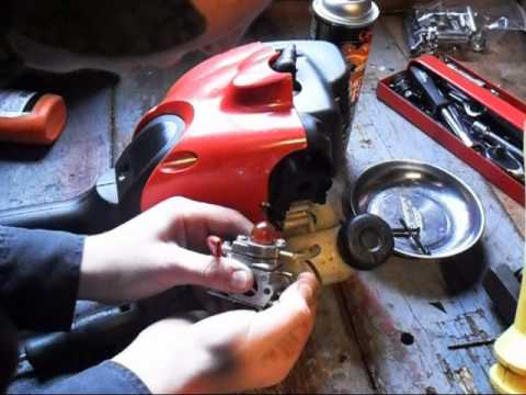 HOW TO CLEAN A Craftsman Trimmer Carburetor  Part 2/2