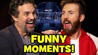 Download AVENGERS ENDGAME Cast Funny Interviews Video