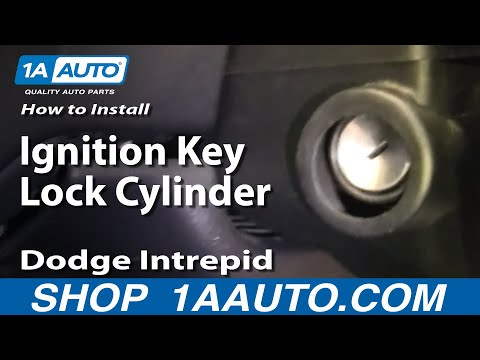 How To Install Repair Replace Ignition Key Lock Cylinder Dodge Intrepid 98-04 1AAuto.com