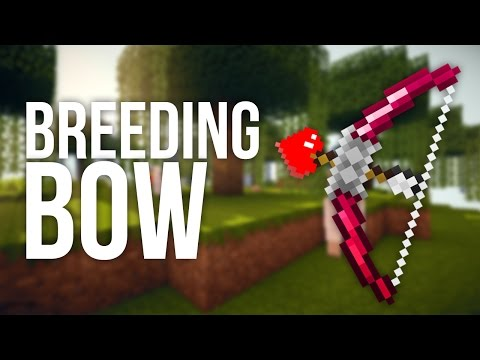 How to Make a Bow That Breeds Animals in Minecraft