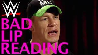 WWE BAD LIP READING - WRESTLEMANIA 30
