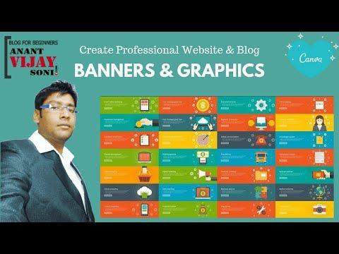 Super Easy & QUICKLY design a Stunning Blog Banner / Header (Canva)