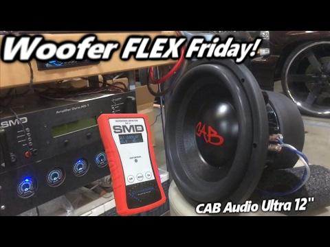 Woofer Flex Friday! CAB Ultra 12